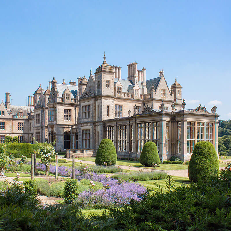 Afternoon Tea for Two at Stoke Rochford Hall