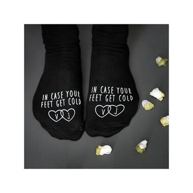Personalised Cold Feet Socks