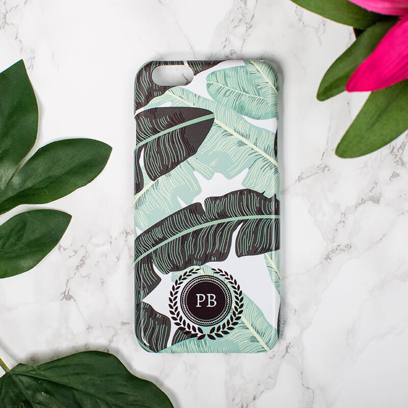 Personalised Banana Leaf Phone Case