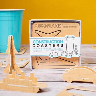 Construction Coasters
