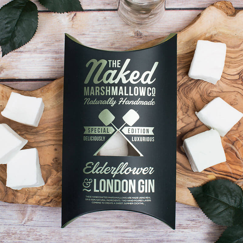 London Gin & Elderflower Marshmallows