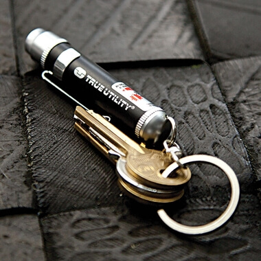 LaserLite - LED Torch And Red Laser Beam Keyring