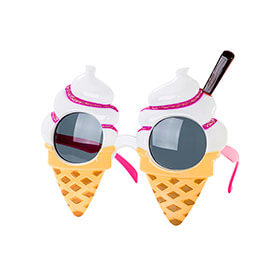 Ice Cream Sunglasses