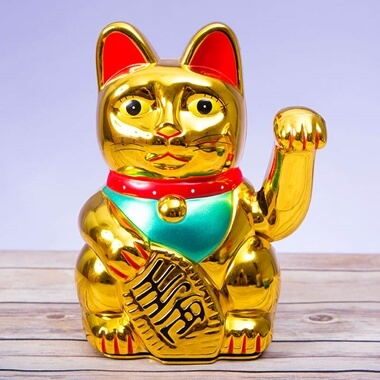 Lucky Waving Cat