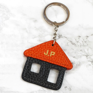 Personalised New Home Keyring