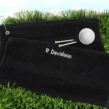 Personalised Golf Towel
