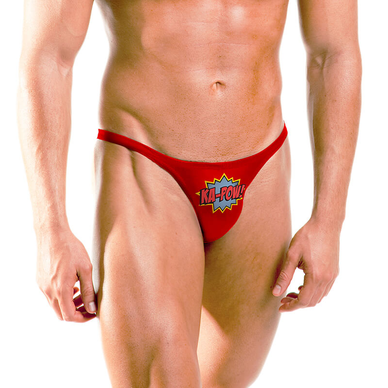 Ka-Pow Superhero Thong