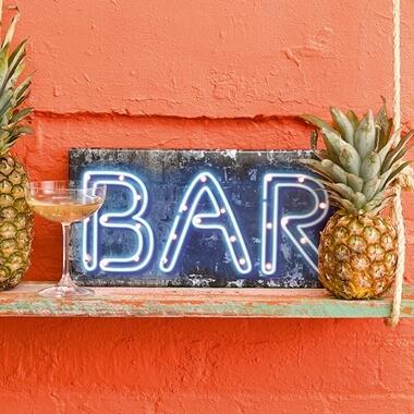 Wooden Bar Light