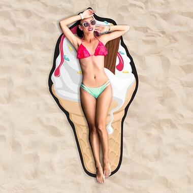 Ice Cream Beach Towel