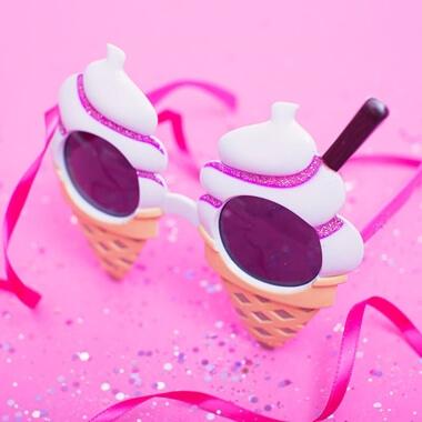Ice Cream Sunglasses