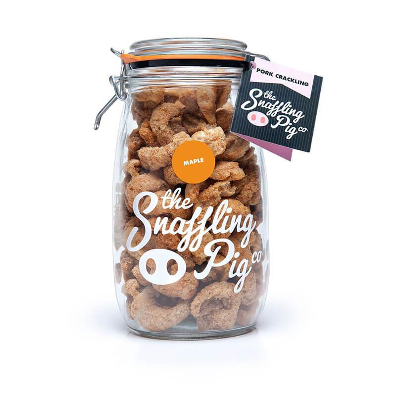 Maple Pork Crackling Gift Jar