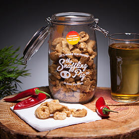 Pig Of Doom Pork Crackling Gift Jar