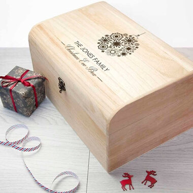 Personalised Family Christmas Eve Chest