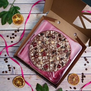 Crazy Crunch Chocolate Pizza 7""