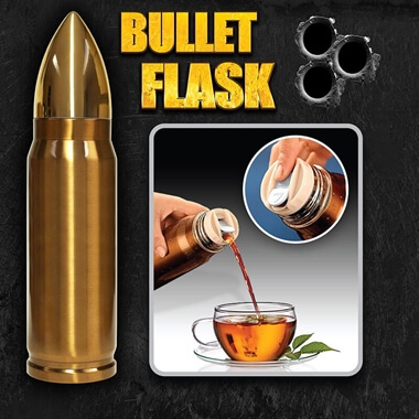 Bullet Thermos Flask