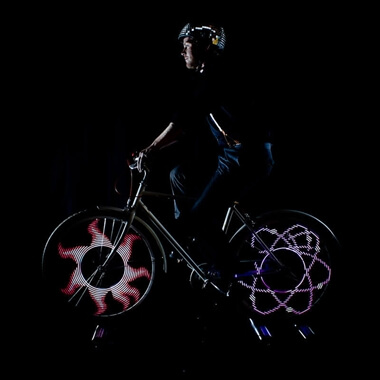 MonkeyLectric 200 Lumens Animated Bike Wheel Lights