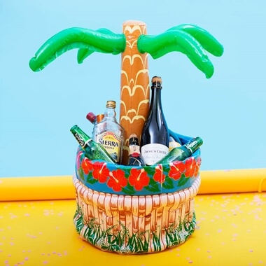 Inflatable Palm Tree Drinks Cooler