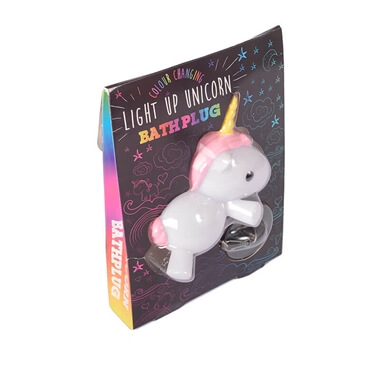 Unicorn Light Up Bath Plug