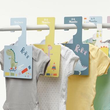 Baby Wardrobe Dividers - Dinky Dinos