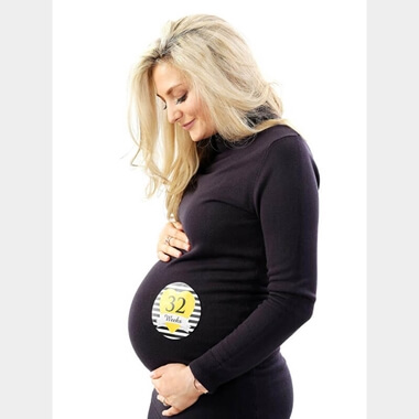 Pregnancy Milestone Stickers