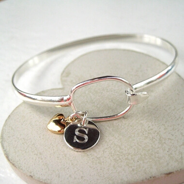 Personalised Loop Bangle