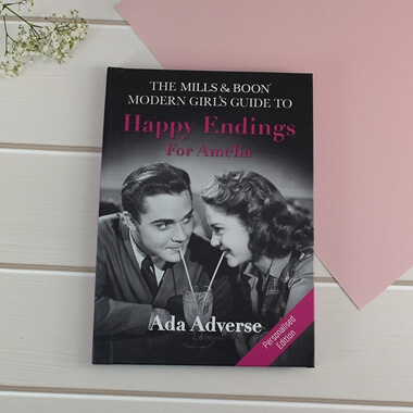 Personalised Mills & Boon Girls Guide - Happy Endings