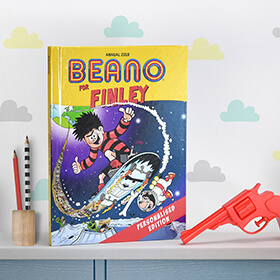 Personalised Beano Book