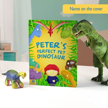 Personalised Dinosaur Story Book