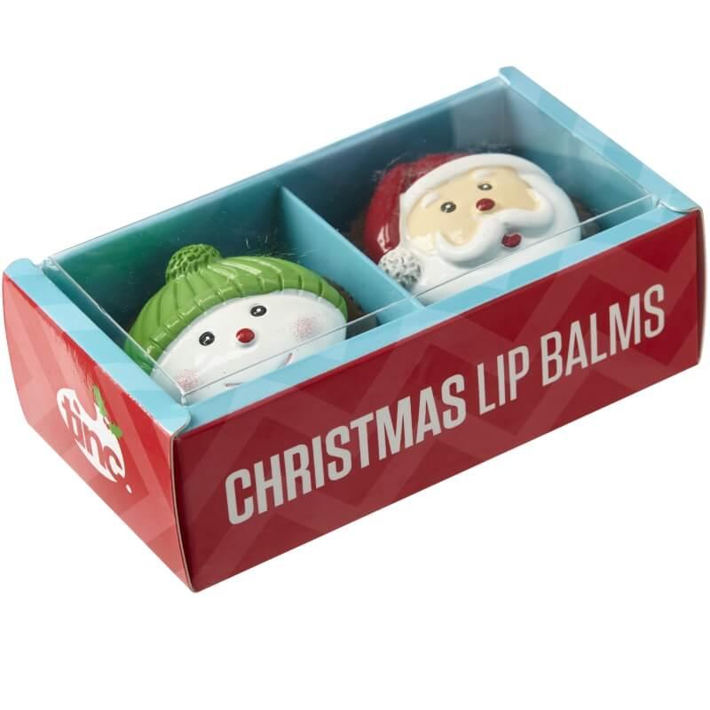 Christmas Lip Balm - Set of 2
