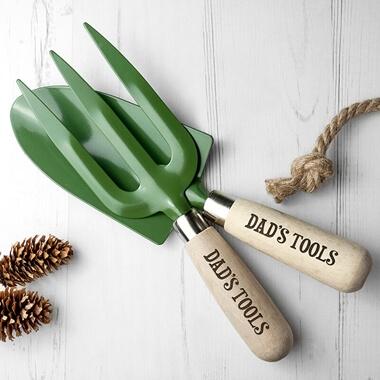 Personalised Trowel and Fork Set