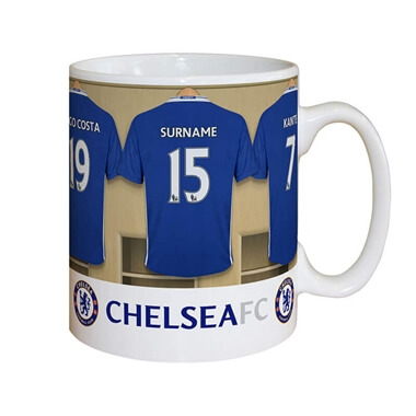 Personalised Chelsea Dressing Room Mug