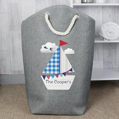 Personalised Sailboat Storage Bag