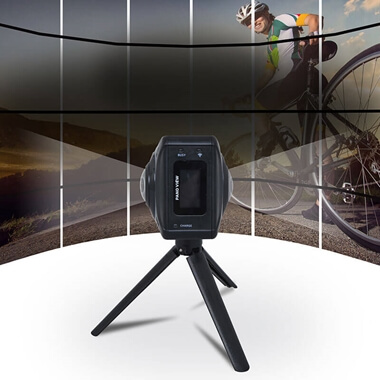 Virtual Reality Vizor 720 Degree Camera