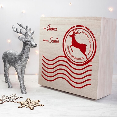 Personalised North Pole Christmas Eve Box