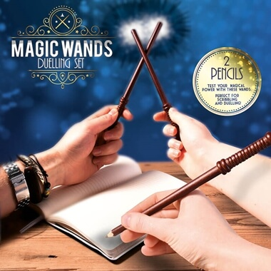Duelling Wand Pencils