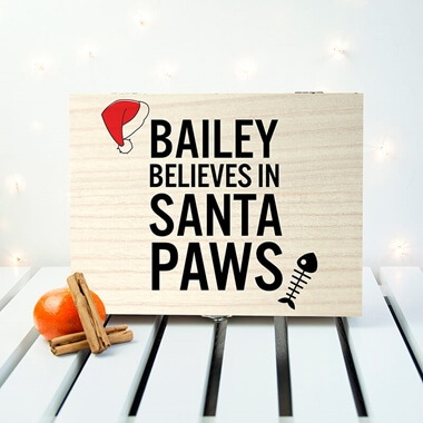 Personalised Pet Christmas Eve Box