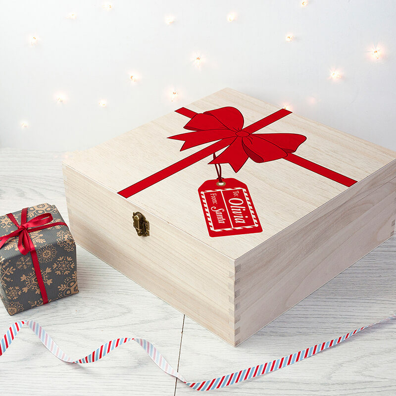 Personalised All Wrapped UP Christmas Eve Box
