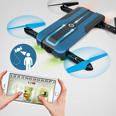 Selfie Drone With Built-In 3D Camera