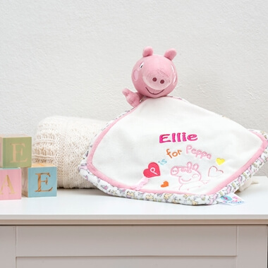 Personalised Peppa Pig Comforter