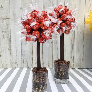Personalised Lindor Sweet Tree