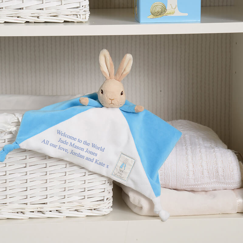 Personalised Peter Rabbit Comforter