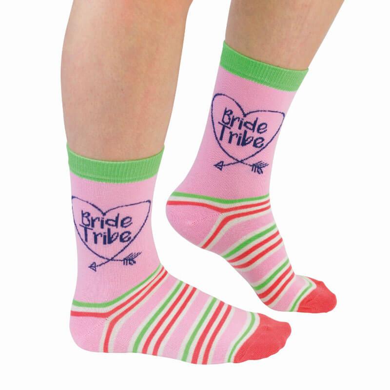 Bride Tribe Socks