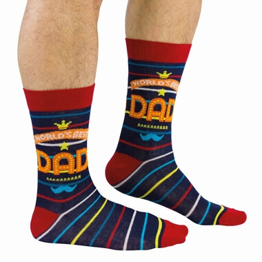 World's Best Dad Socks
