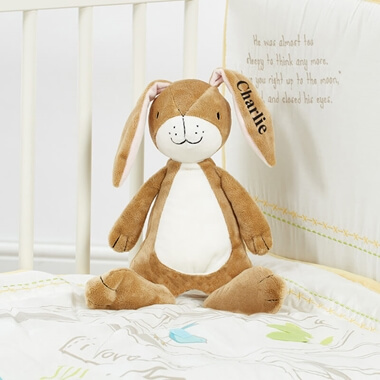 Personalised Plush Rattle
