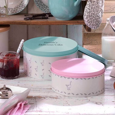Personalised Mary Berry Cake Tins