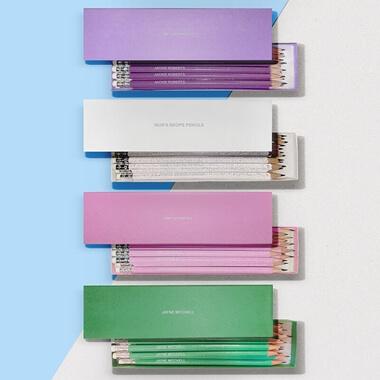 Personalised Glitter Pencils