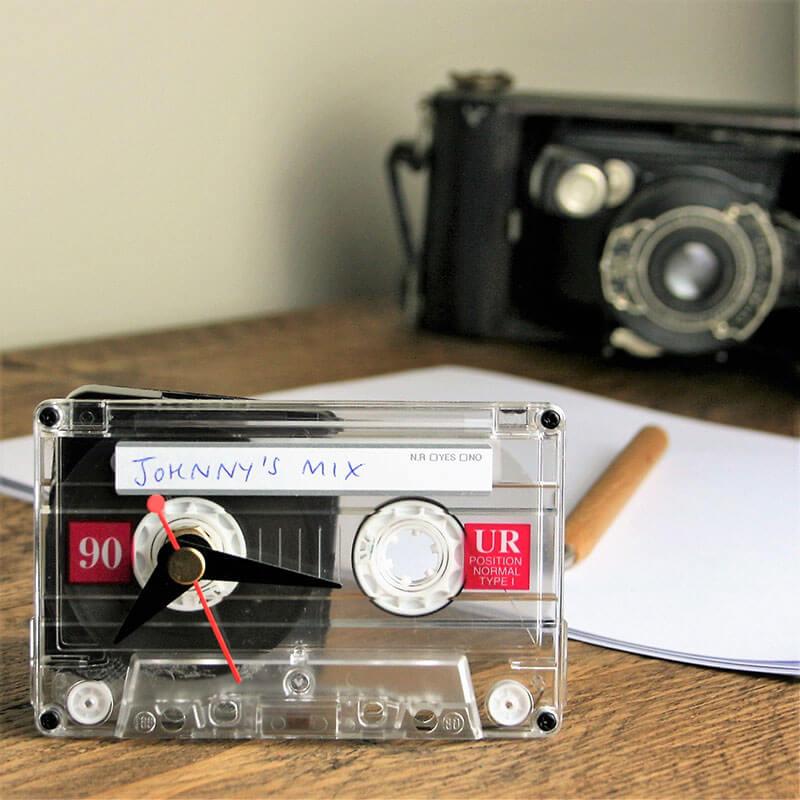 Personalised Mix Tape Clock