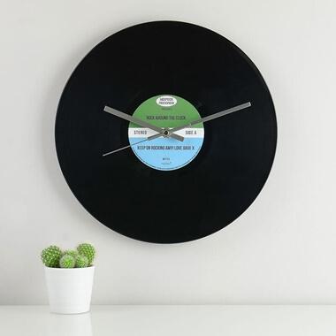 Personalised Vinyl Record Wall Clock