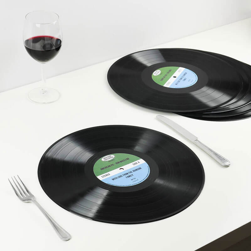 Personalised Vinyl Placemats