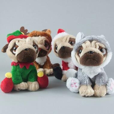 Personalised Christmas Pug